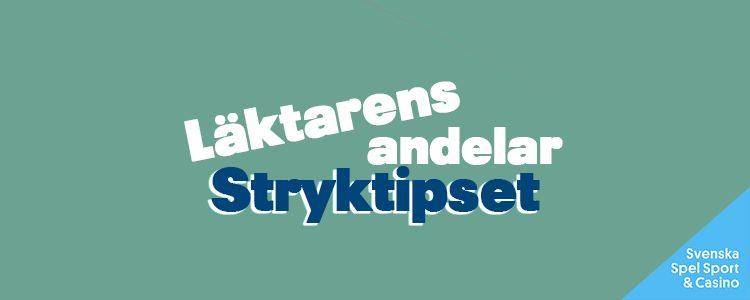 Stryktipset 18/9 – Tips, andelar & analys