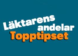 Läktarens andelar – Topptipset – Måndag 8/3