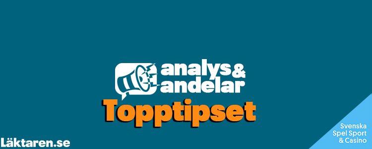 Topptipset 27/9 – Tips, andelar & analys