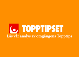 Topptipset 4/3 » Tips & analys
