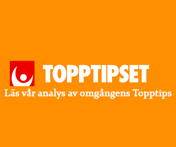 Topptipset 8/3 » Tips & analys