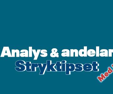 Stryktipset 16/10 – Tips, andelar & analys