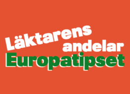 Läktarens andelar – Europatipset – Torsdag 25/2