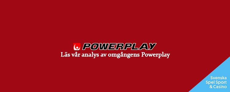 Powerplay 15/4 » Tips & analys