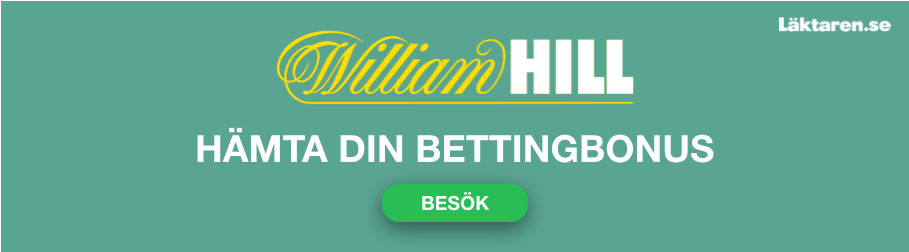 williamhill betting bonus laktaren se